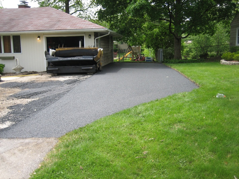 Driveway During Installation (1 of 4)