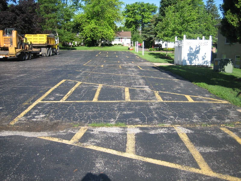 Redeemer Fellowship Church - St. Charles - Before Asphalt Paving (1 of 14)