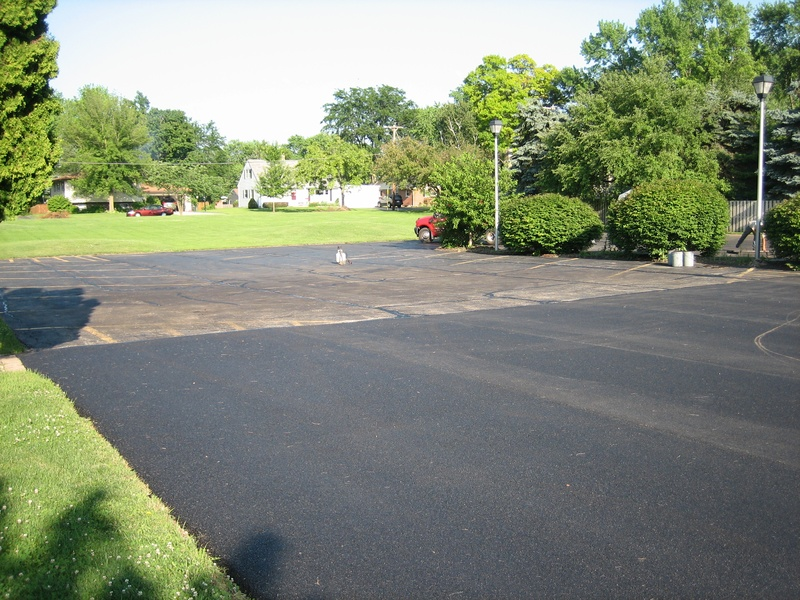 Paving Finished - Sealcoating on The Back Portion Of The Parking Lot To Be Completed Next (7 of 14)