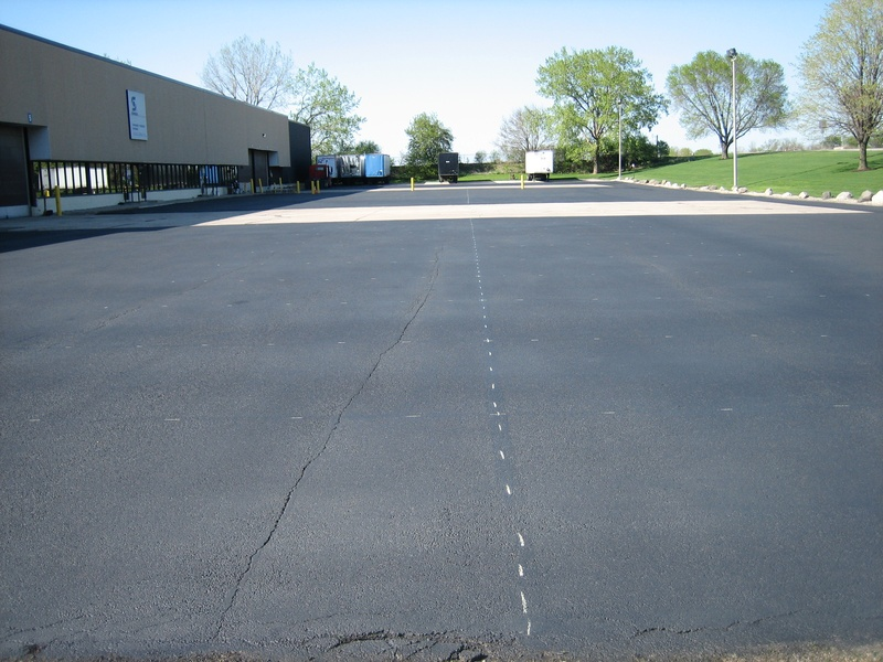After Sealcoating - Before Pavement Markings - (3 of 7)
